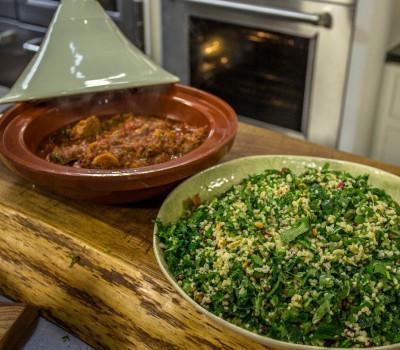 Lamb Tagin Herb Tabbouleh