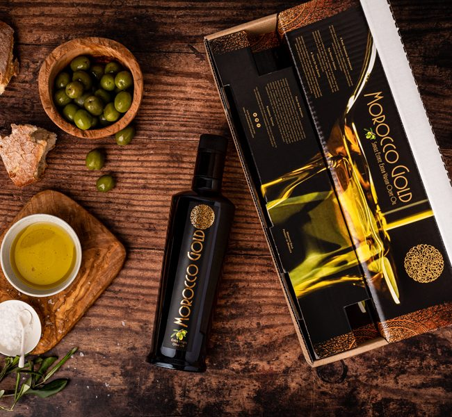Premium Packaging Morocco Gold