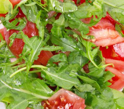 Healthy Tomato Vegetarian Salad