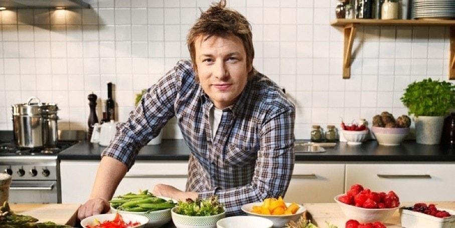 Jamie Oliver uses extra virgin olive oil for skincare.