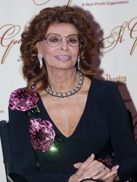 Sophia Loren uses evoo as part of her celebrity skincare