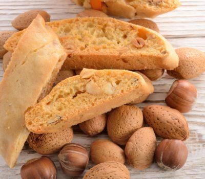Walnut Almonds Biscotti
