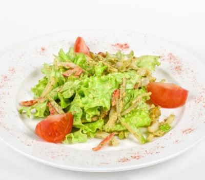 Roast Chicken Garden Salad