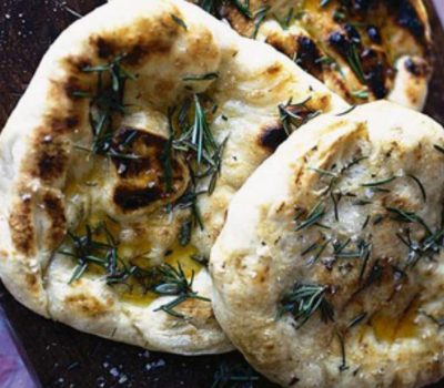Flatbreads With Extra Virgin Olive Oil
