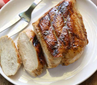 Grilled Chicken With Extra Virgin Olive Oil