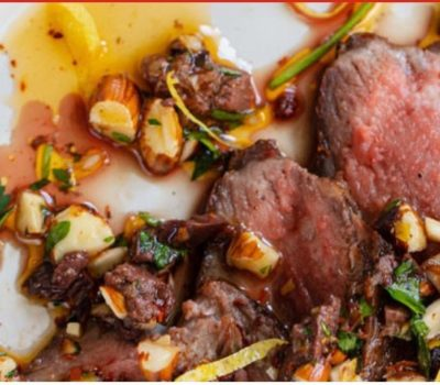 Grilled Steak With Extra Virgin Olive Oil