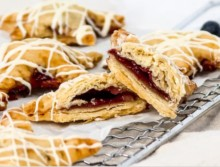 Berry Pop Tarts With Extra Virgin Olive Oil