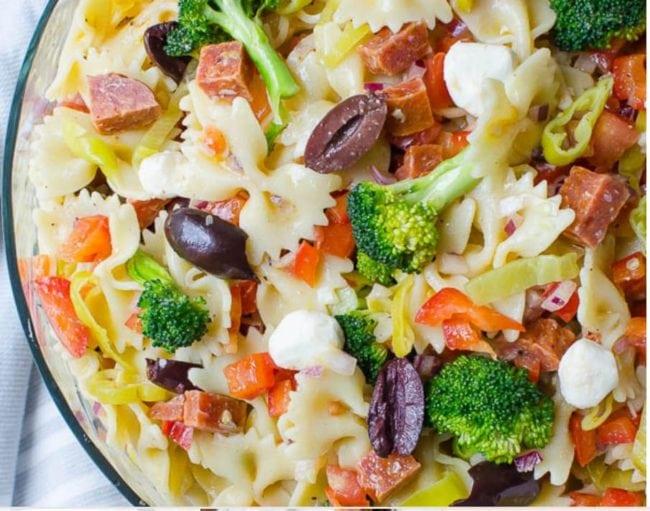 Tuna Pasta Salad With Extra Virgin Olive Oil
