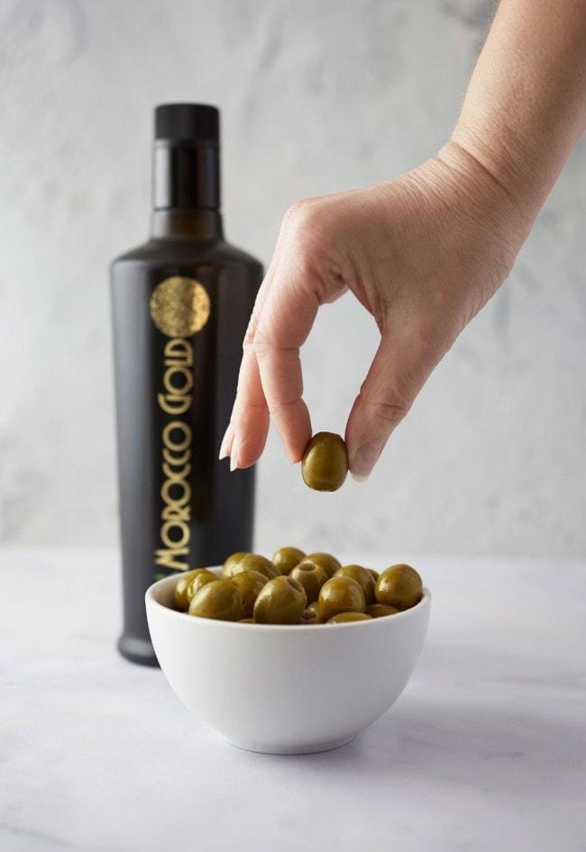 Hand Picking Olive Oils