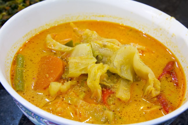 Extra Virgin Olive Oil & Vegetable Curry