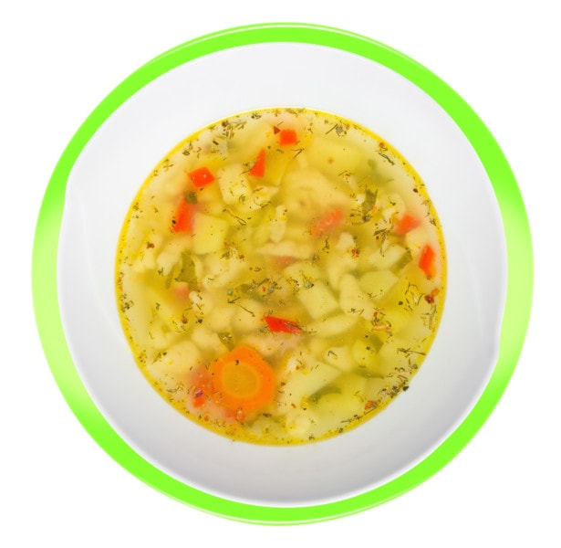 Soup With Extra Virgin Olive Oil For Gut Health
